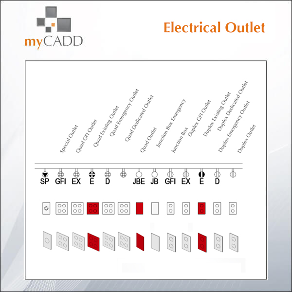 Free Revit Family: Electrical Outlet