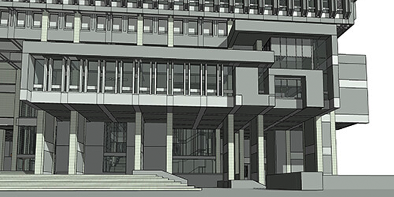Project Spotlight: Boston City Hall – Revit Model from CAD  PDF